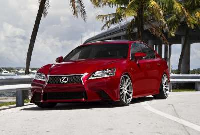 Red Modified Lexus Car wallpaper