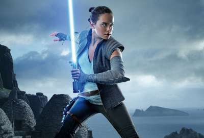 Rey Star Wars: The Last Jedi Daisy Ridley wallpaper