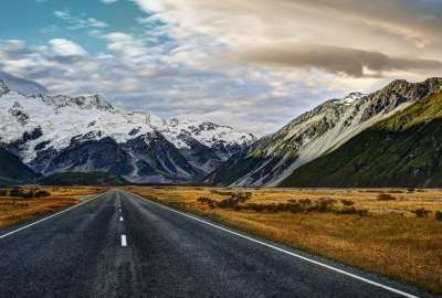 Road to Mount Cook wallpaper