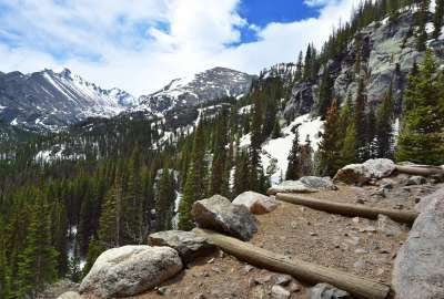 Rocky Mountain National Park Bear Lake Trail wallpaper