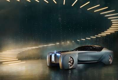 Rolls Royce Vision Next Concept 4K wallpaper