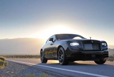 Rolls Royce Wraith Black Badge 4K wallpaper