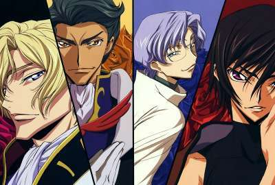 Schneizel Jeremiah Lloyd and Lelouch From Code Geass wallpaper