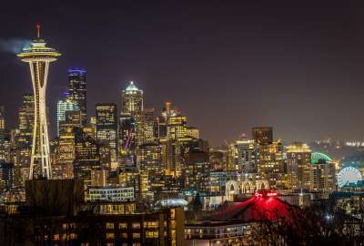Seattle Skyline From Kerry Park OC wallpaper