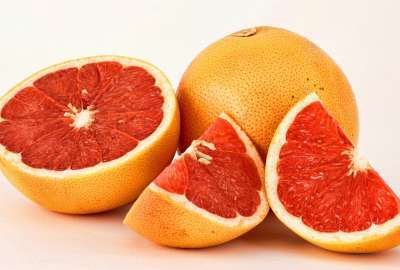 Sliced Grapefruit wallpaper