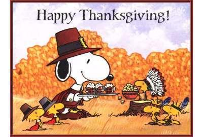 snoopy happy thanksgiving 4k - photo #1