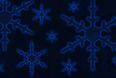 Snow Flakes Black Background wallpaper
