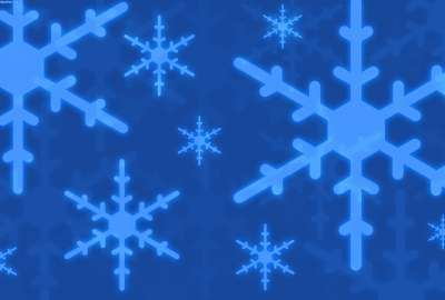 Snow Flakes Blue Bright Background wallpaper