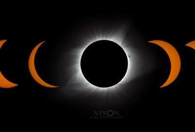 Solar Eclipse 2017 wallpaper