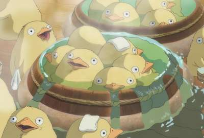 Spirited Away Ducks wallpaper