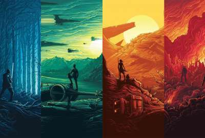 Star Wars: Force Awakens Posters wallpaper
