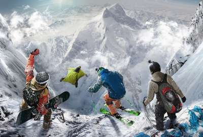 Steep Extreme Sport Game 4K wallpaper