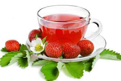 Strawberry Tea wallpaper