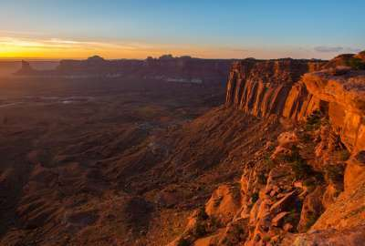 Sunset on Canyonlands Utah wallpaper