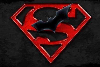 superman logo fire hd - photo #26