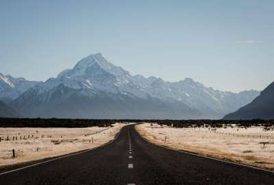The Breathtaking Journey to Mt. Cook New Zealand wallpaper
