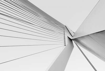 The Erasmus Bridge Rotterdam The Netherlands wallpaper