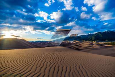 The Great Sand Dunes of Colorado wallpaper