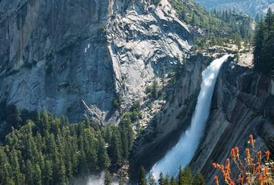 The Unreasonably Photogenic Nevada Fall wallpaper