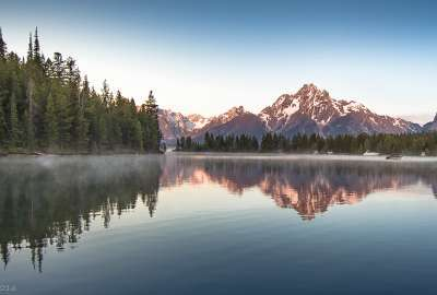 These Beautiful Tetons Are Really More Grand wallpaper