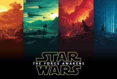 This Amazing 5K Star Wars: The Force Awakens wallpaper