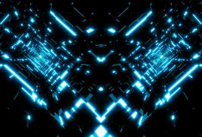 Tron Tunnels wallpaper