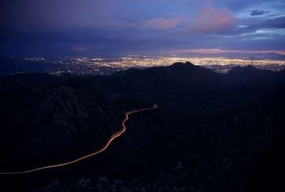 Tucson At Night wallpaper