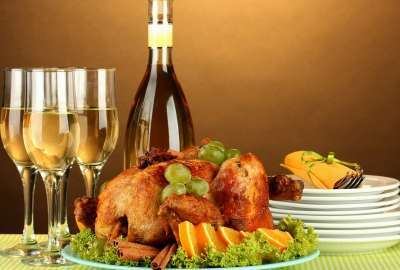 Turkey Meal Presentation wallpaper