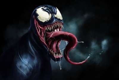 Venom Drawing wallpaper