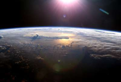 View From the International Space Station wallpaper