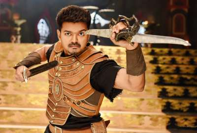 Vijay Puli Tamil Movie wallpaper
