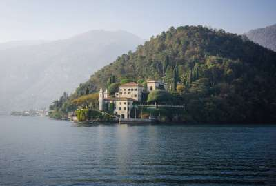 Villa Del Balbianello From a Trip to Italy wallpaper