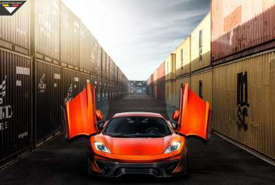 Vorsteiner McLaren 12C MP VX wallpaper