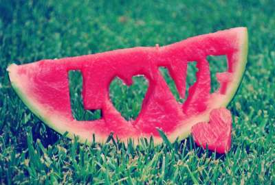 Watermelon Love wallpaper