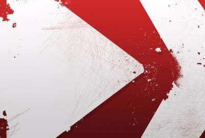 White Arrow Abstract wallpaper