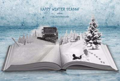 Wishing You Winter wallpaper