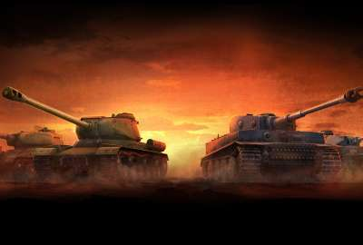 World of Tanks 5K wallpaper