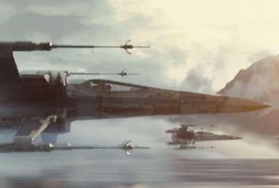 XWing Fighter Star Wars The Force Awakens wallpaper