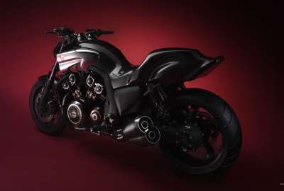 Yamaha Vmax Red wallpaper