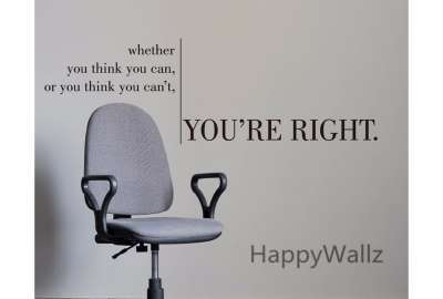 You're Right Motivational Quote wallpaper
