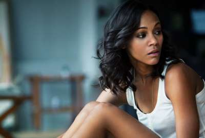 Zoe Saldana American Actress wallpaper