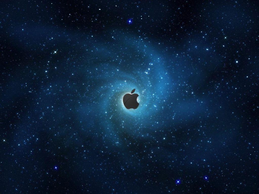 apple galaxy wallpaper background 1920x1080 1024x768 wallpaper