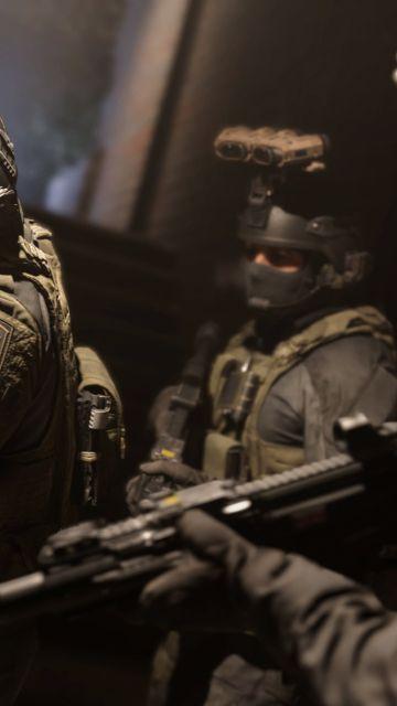 Call Of Duty Modern Warfare 2019 Wallpaper In 360x640 Resolution