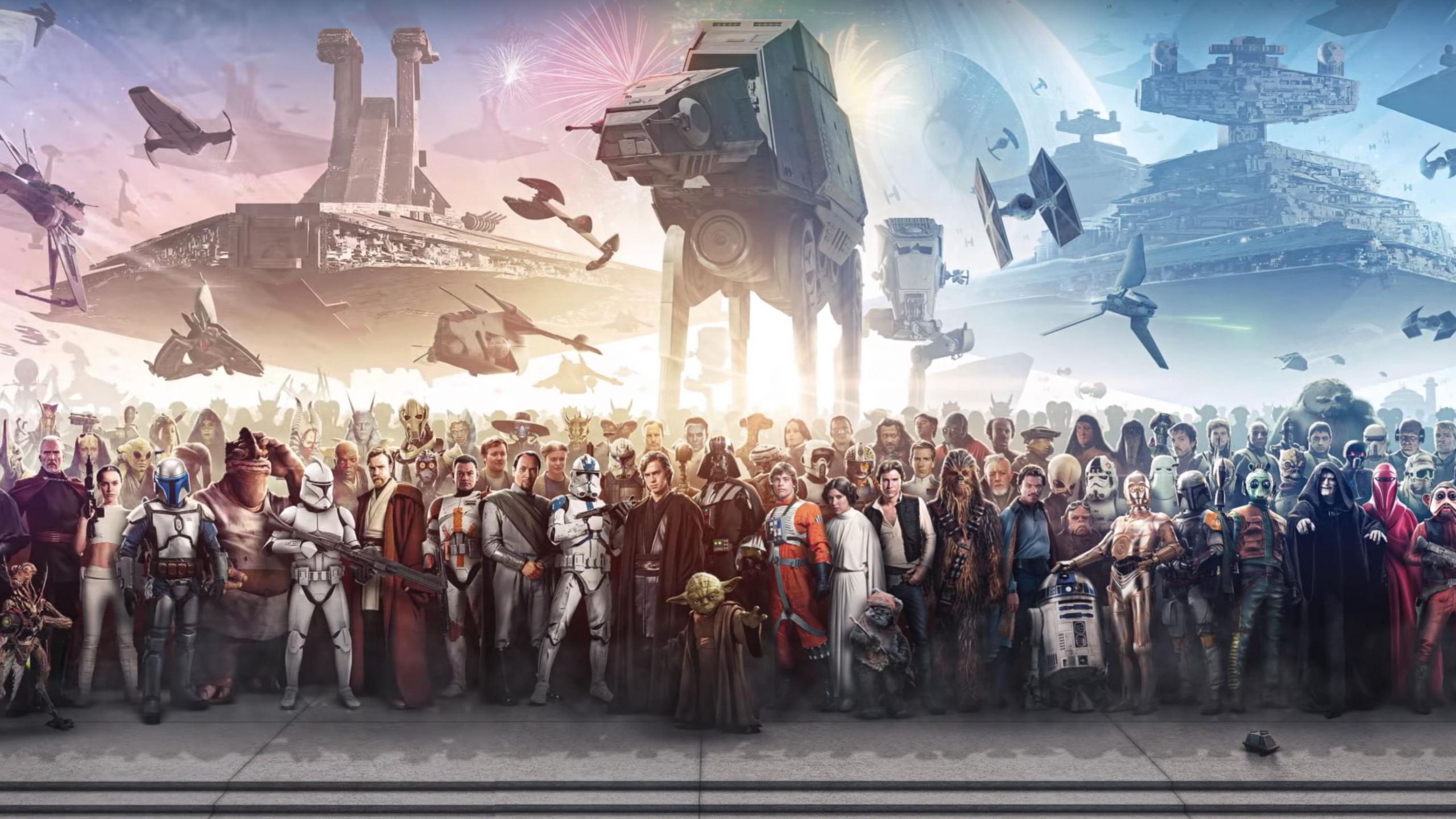 Epic Star Wars Wallpaper In 2560x1440 Resolution