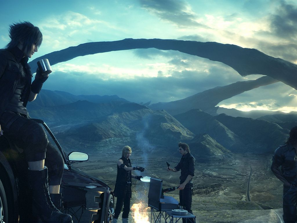 Wallpaper Final Fantasy Xv 4k Games 7230: Ultra 4K Wallpapers For Your Desktop Or Mobile Screen Free