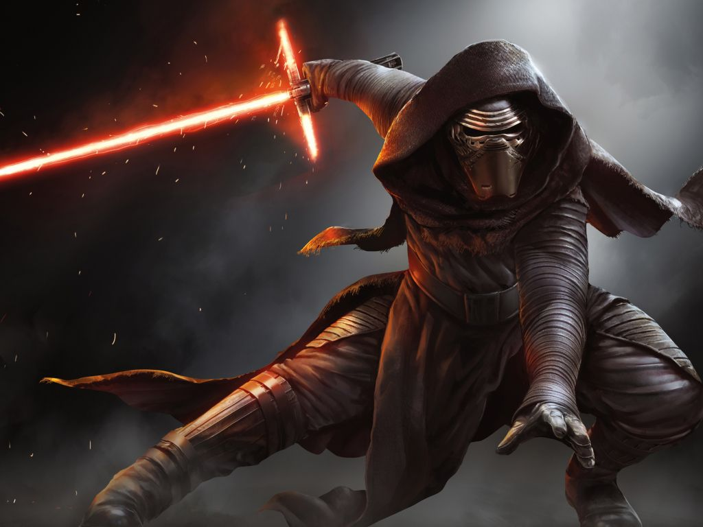 kylo ren star wars wallpaper 1024x768 wallpaper