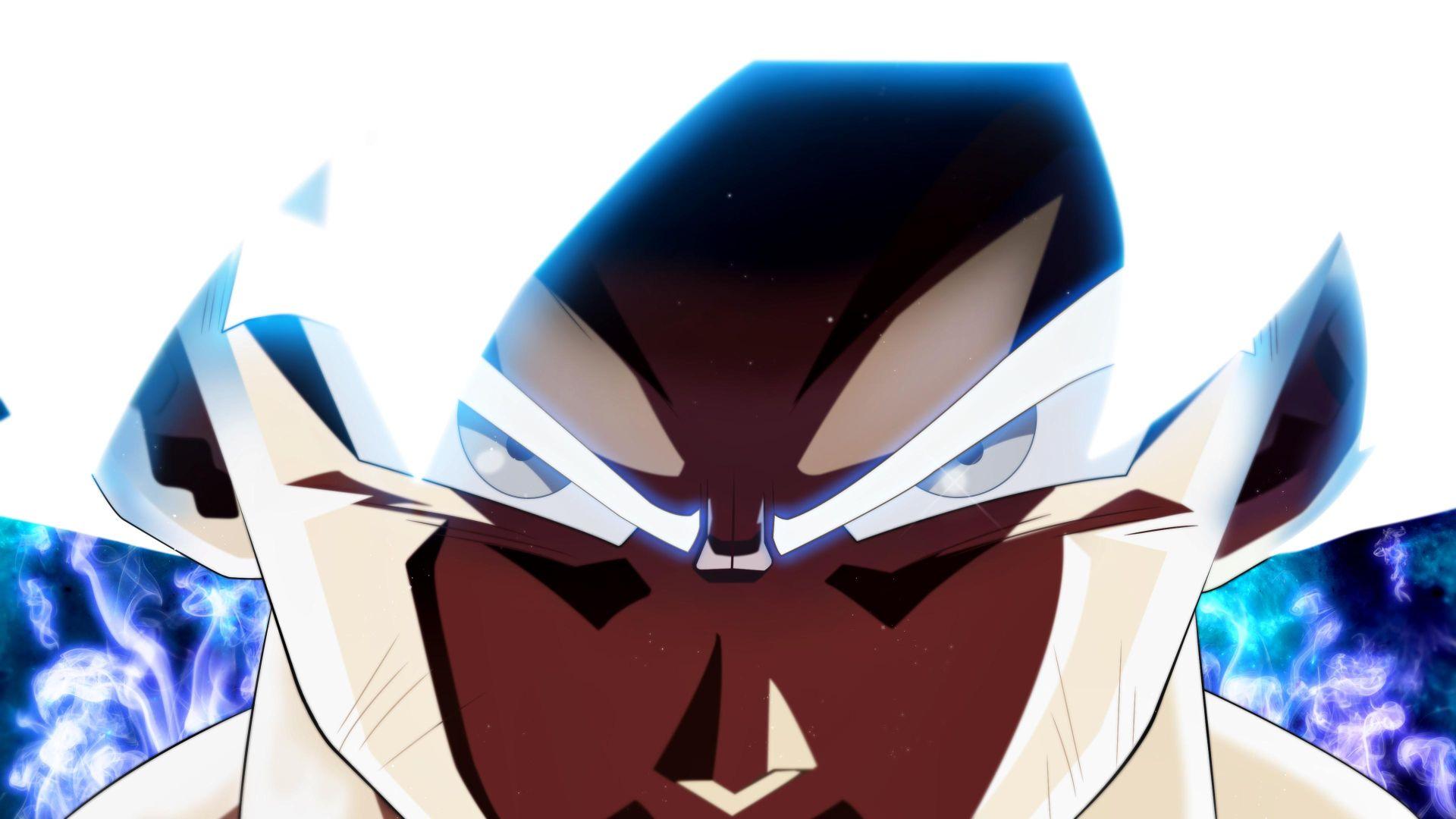 Mastered Ultra Instinct Goku Wallpaper In 1920x1080 Resolution