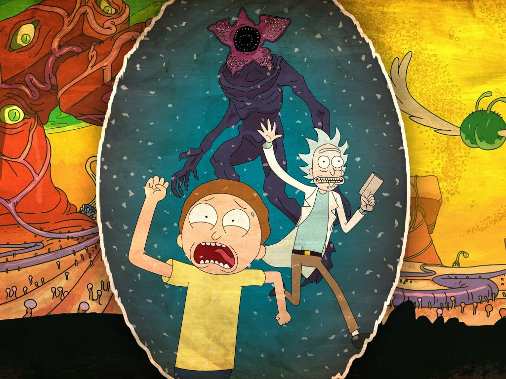 Rick-Morty 4K wallpapers for your desktop or mobile screen ...