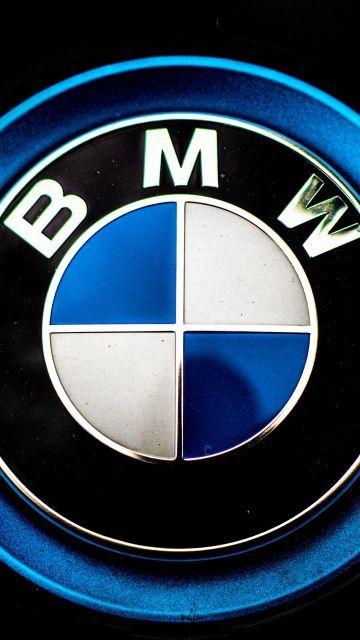 Simple Bmw Logo Wallpaper In 360x640 Resolution